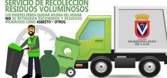 Nuevo Operativo Retiro de Residuos Voluminosos