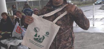 Comunidad lajina se informa sobre reciclaje