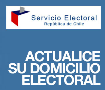 ACTUALICE SU DOMILICIO ELECTORAL