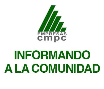 CMPC PLANTA LAJA INFORMA A LA COMUNIDAD