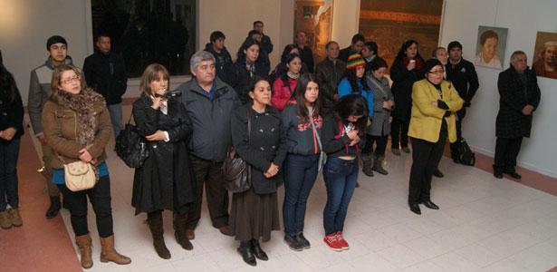 MUESTRA PICTÓRICA DE TEMÁTICA FERROVIARIA INSPIRADA EN SAN ROSENDO SE EXHIBE EN LAJA