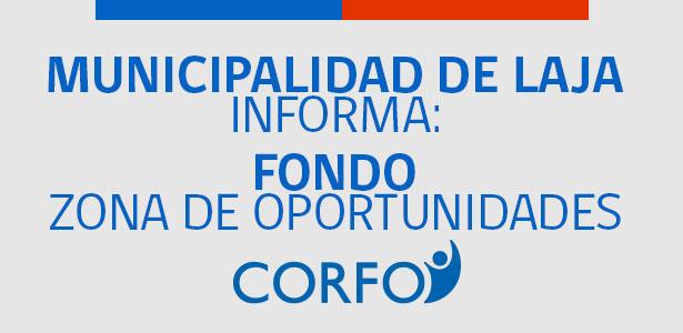 Fondo Zona de oportunidades de Corfo