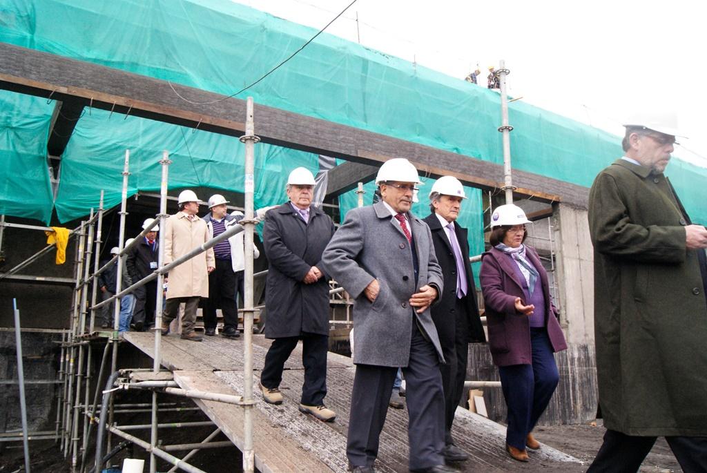 Nuevo hospital lajino presenta importante grado de avance en construcción