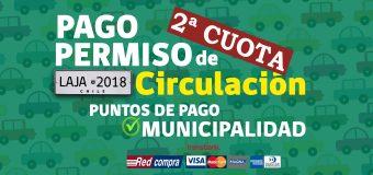 Desde el 1° de Agosto estará disponible el Pago de Permiso de Circulación