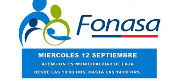 Atención de FONASA en HALL MUNICIPAL