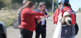 Comunidad de Puente Perales dialogó con Alcalde de Laja en búsqueda de soluciones
