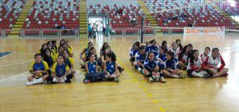 Vóleibol Sub 14 damas obtiene tercer lugar en torneo angelino