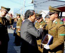 Laja homenajeó a sus Carabineros en su 90° Aniversario