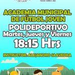 Academia municipal de futbol 2017