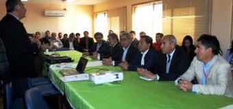 Alcalde de Laja participa en reunión con autoridades regionales