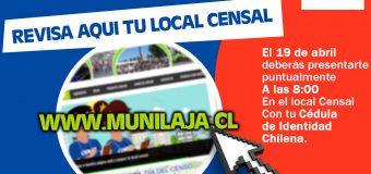 Ingresa a nuestra página web y conoce tu local censal