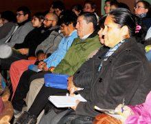 Dirigentes participan en capacitación sobre Registro Social de Hogares