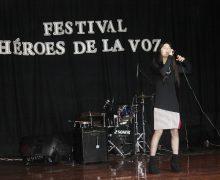 """Jóvenes lajinos se lucen en Festival """"Héroes de la Voz"""""""