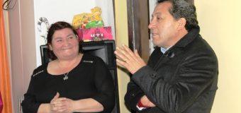 VECINOS DE FUTALEUFÚ SE REÚNEN CON ALCALDE DE LAJA Y SU EQUIPO DE TRABAJO