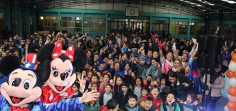 Estudiantes de los establecimientos rurales disfrutaron de su Celebración del Día del Niño