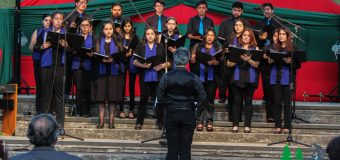 Coro de Cámara Laurencia Contreras se presentó con navideño repertorio ante la comunidad lajina