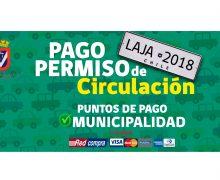 Dirección de Tránsito extiende su horario para Pago Permiso de Circulación 2018