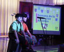 Estudiantes de la comuna mostraron todo su talento en cierre de Semana de la Educación Artística