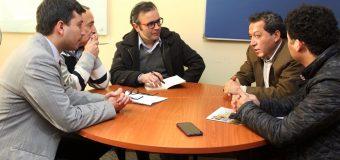 Alcalde de Laja se reúne con Seremi de Desarrollo Social