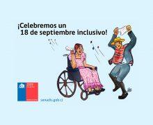 Senadis informa recomendaciones para un 18 inclusivo!