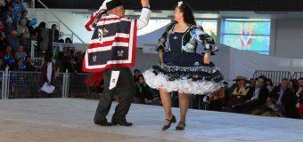 Adultos Mayores se lucieron en Provincial de Cueca
