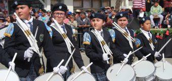 Lajinos disfrutaron de un impecable Desfile Cívico Urbano