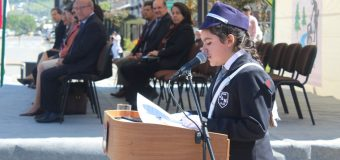 Escolares prestaron su juramento con Brigadistas en el Día del Patrullero 2018