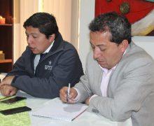 Gobernador del Biobío y Alcalde de Laja  se reúnen para tratar déficit hídrico en la comuna