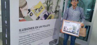Estudiante lajino destaca con Primer Lugar en concurso Concepción 100 palabras