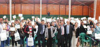 150 lajinos reciben kit de eficiencia energética y prácticos consejos para su ahorro
