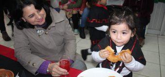 Jardines Infantiles de Laja conmemoraron Año Nuevo Mapuche