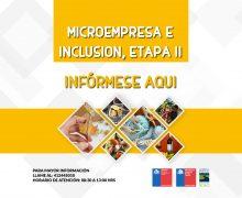 Abiertas Postulaciones para Programa Microempresa e inclusión