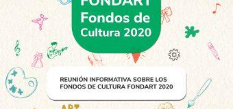 Próxima Capacitación Fondart 2020