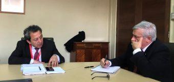 Alcalde de Laja se reunió con Ministro de Salud Jaime Mañalich
