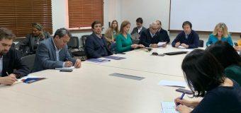 Alcalde de Laja participa en Mesa Interministerial por crisis hídrica