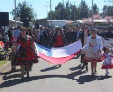 Sector de Santa Elena fue el escenario de Desfile Rural 2019