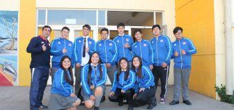 Estudiantes de la Escuela de Deportes recibieron indumentaria para competir en Fase Final de Juegos Deportivos Escolares