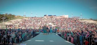 Cachureos y banda lajina destacaron en el Side Show Rec en Laja!