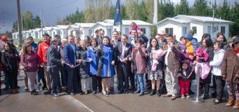 70 familias de Laja recibieron sus viviendas en Villa las Almendras