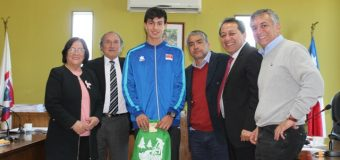 Atletas de la Escuela de Deportes Laja fueron reconocidos en Concejo Municipal