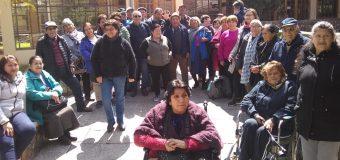 Municipalidad de Laja financia viaje de adultos mayores