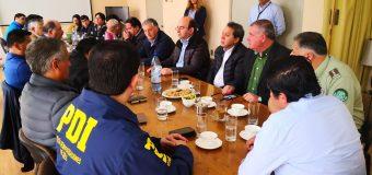 Alcalde de Laja participó en reunión de líderes provinciales