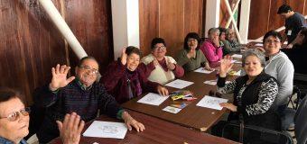 Segundo taller cognitivo para adultos mayores en Laja