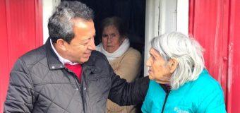 Municipalidad de Laja entregó ayuda a víctimas de incendio