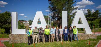 Parque Urbano Capponi presenta un 98% de avance