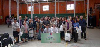 Más de 140 familias lajinas recibieron kit de energía