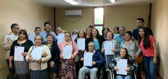 18 familias lajinas recibieron subsidio para el arreglo de sus casas