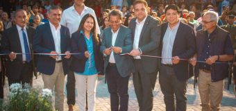 Laja inauguró su primer parque urbano