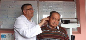 Otorrino atendió a más de 30 personas del sector rural