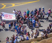 Caminata por Una Vida Sana reunió a más de 100 personas